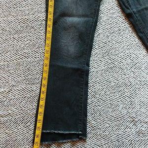 Universal Thread Jeans - Universal thread high rise kick boot crop 8/29 R